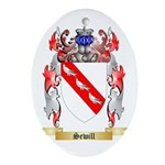 Sewill Oval Ornament