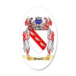 Sewell Oval Car Magnet