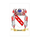 Sewell Sticker (Rectangle 50 pk)