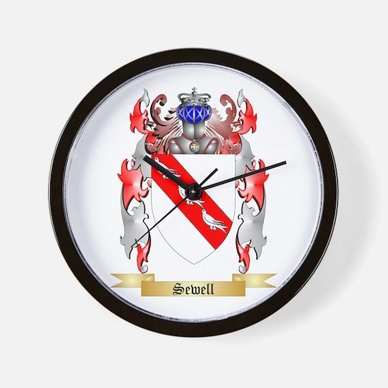 Sewell Wall Clock