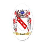 Sewall Oval Car Magnet