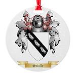 Seville Round Ornament
