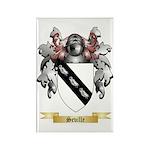 Seville Rectangle Magnet (100 pack)