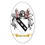 Seville Sticker (Oval 50 pk)