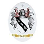 Seville Oval Ornament