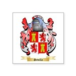 Sevilla Square Sticker 3