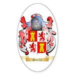 Sevilla Sticker (Oval 50 pk)