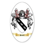 Sevill Sticker (Oval 10 pk)