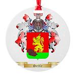 Settle Round Ornament