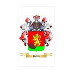 Settle Sticker (Rectangle 50 pk)