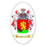 Settle Sticker (Oval 50 pk)