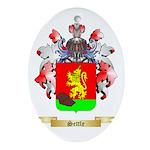 Settle Oval Ornament