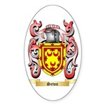Seton Sticker (Oval)
