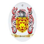 Seton Oval Ornament
