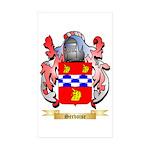 Servoise Sticker (Rectangle 50 pk)