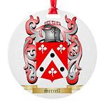 Serrell Round Ornament