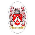 Serrell Sticker (Oval)