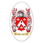 Serrell Sticker (Oval 50 pk)