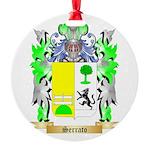 Serrato Round Ornament