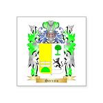 Serrato Square Sticker 3