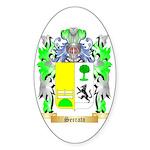 Serrato Sticker (Oval)