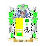 Serrato Small Poster