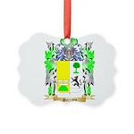 Serrato Picture Ornament