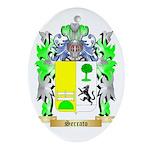Serrato Oval Ornament