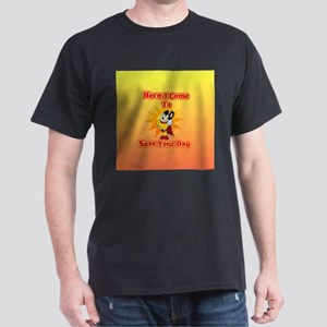 Here I Come To Save Your Day Mighty Mouse T-Shirt