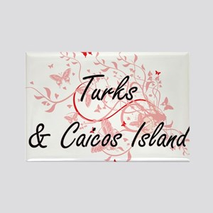 Turks & Caicos Island Artistic Design with Magnets