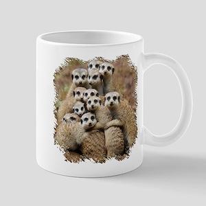 Meercat Family Mug