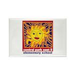 Sun Rectangle Magnet (10 pack)