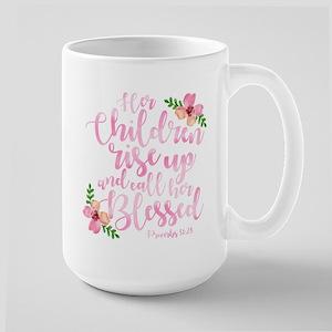 Rise Up Blessed Large Mug