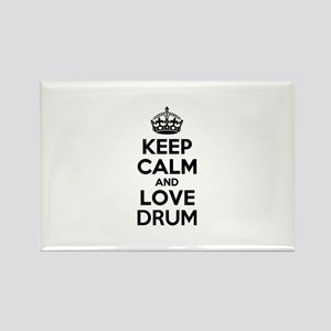 Keep Calm and Love DRUM Magnets