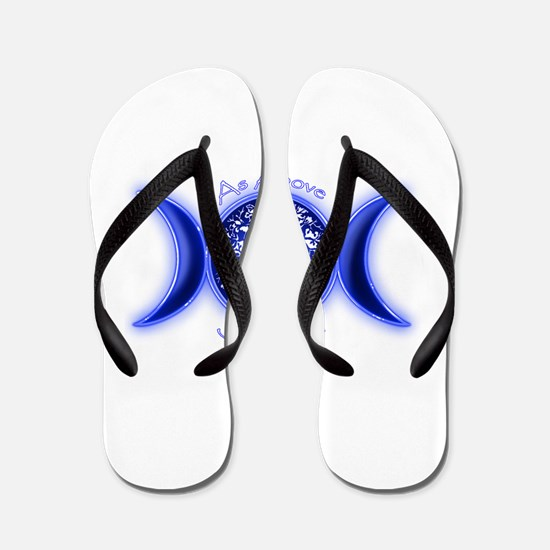 Funny Tree of life Flip Flops