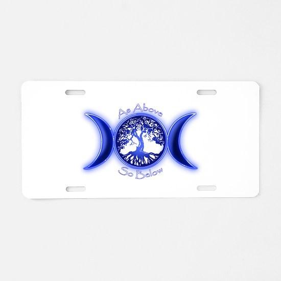 Cute Paganism Aluminum License Plate