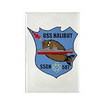 USS Halibut (SSGN 587) Rectangle Magnet (10 pack)