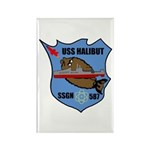 USS Halibut (SSGN 587) Rectangle Magnet (100 pack)