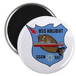 USS Halibut (SSGN 587) Magnet