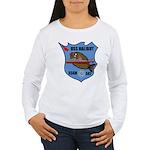 USS Halibut (SSGN 587) Women's Long Sleeve T-Shirt