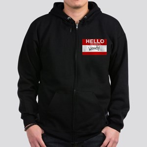 Hello My Name Is Wendy Sweatshirt