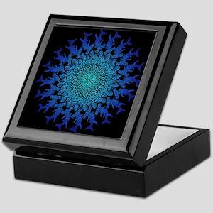 Tribal Hammerhead Mandala Keepsake Box
