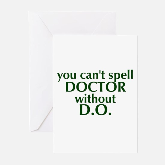 Osteopathic Greeting Cards