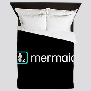 Mermaid (Aqua) Queen Duvet