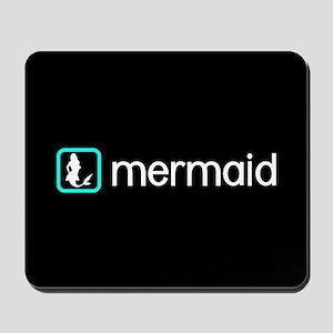 Mermaid (Aqua) Mousepad