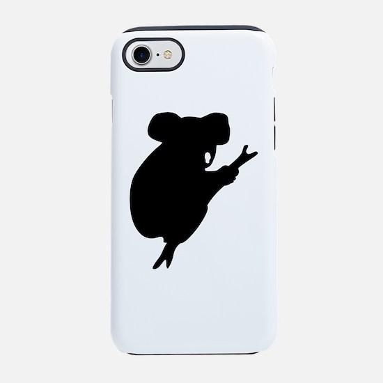 Koala Silhouette iPhone 8/7 Tough Case
