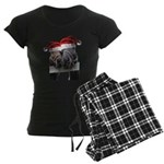 Christmas Horses In Love Pajamas