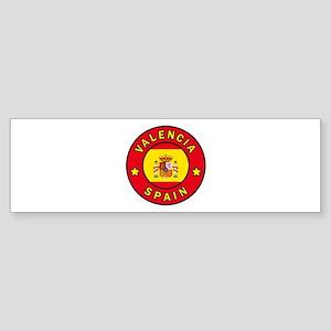 Valencia Spain Bumper Sticker
