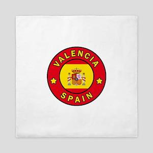 Valencia Spain Queen Duvet