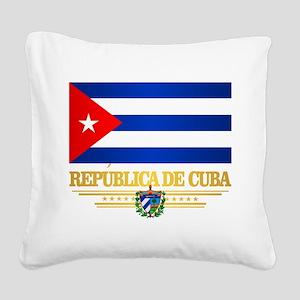 Cuba Square Canvas Pillow